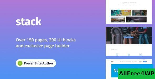 Stack v10.5.20 - Multi-Purpose Theme with Variant Page Builder