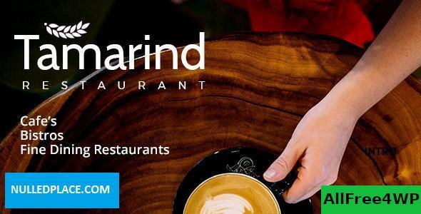 Download Tamarind v1.8 - Restaurant Theme for WordPress