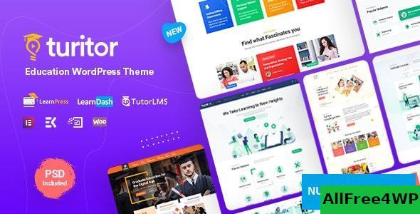 Download Turitor v1.1 - LMS & Education WordPress Theme