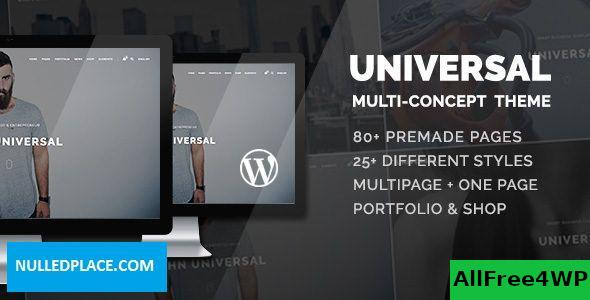 Download Universal v1.2.5 - Smart Multi-Purpose WordPress Theme