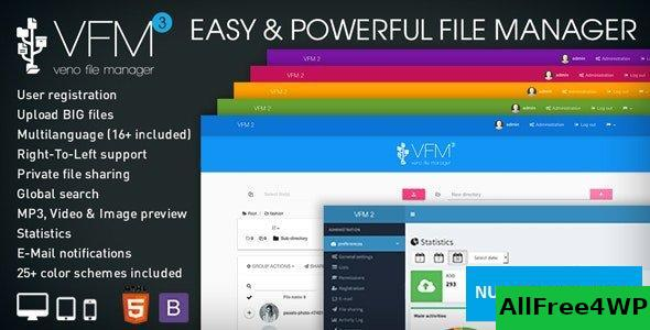 Veno File Manager v3.5.8 - host and share files
