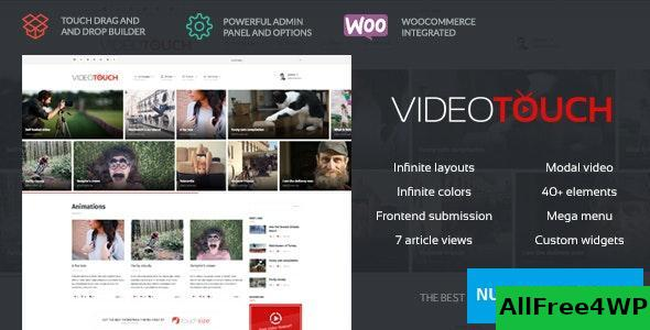 VideoTouch v1.8.7 - Video WordPress Theme