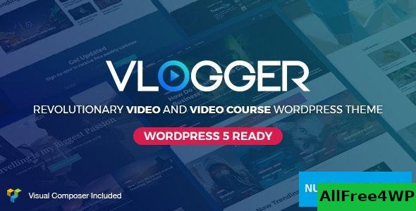 Download Vlogger v2.4.3 - Professional Video & Tutorials Theme