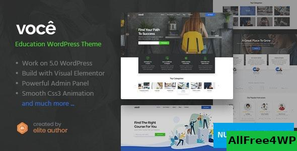 Download Vocee v1.0.1 - Education & LMS WordPress Theme