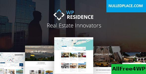 Download WP Residence v3.1 - Real Estate WordPress Theme