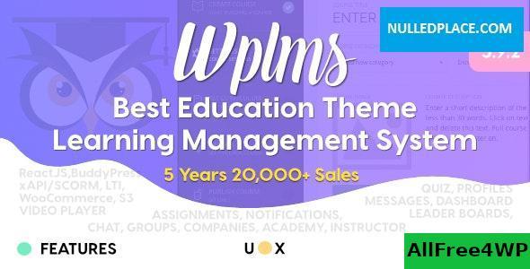 Download WPLMS v3.9.9 - Learning Management System for WordPress