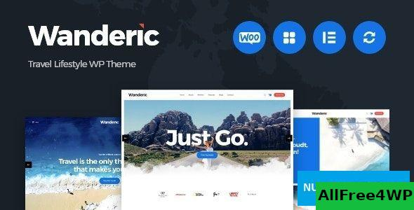 Download Wanderic v1.0 - Travel Blog & Lifestyle WordPress Theme