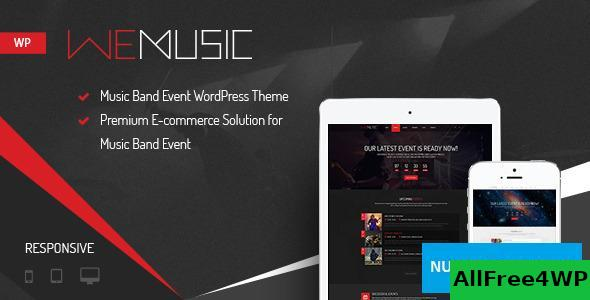 WeMusic v1.8.0 - Music Band Event WordPress Theme