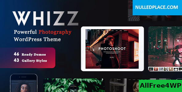 Download Whizz v2.1.1 - Photography WordPress for Photography