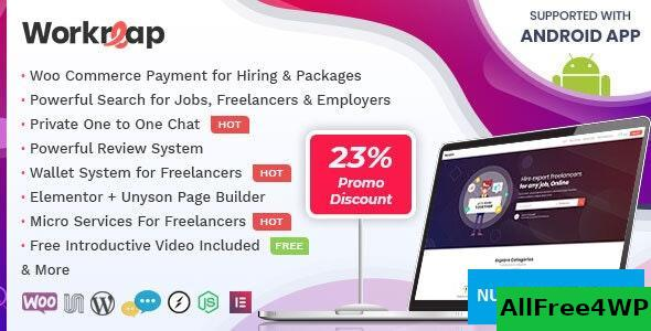 Download Workreap v1.4.9 - Freelance Marketplace WordPress Theme + Android App
