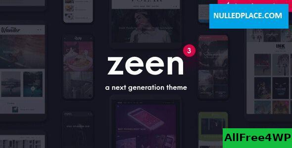 Download Zeen v3.7.3 - Next Generation Magazine WordPress