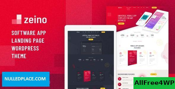 Zeino v1.0 - App Landing WordPress Theme