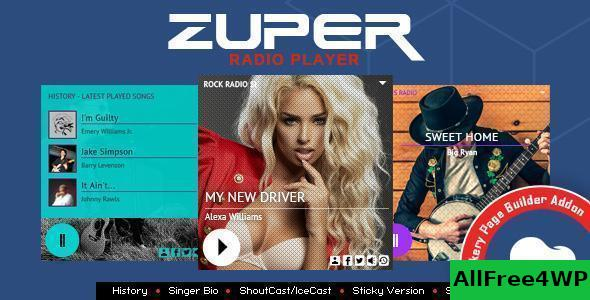 Zuper V1 0 Shoutcast And Icecast Radio Player Addon