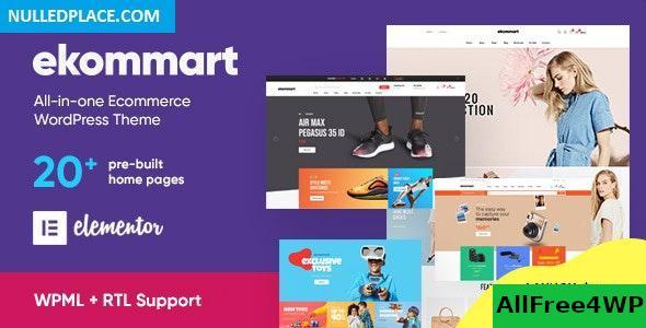 Download ekommart v1.5.3 - All-in-one eCommerce WordPress Theme