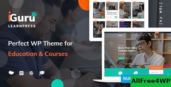 Download iGuru v1.0.3 - Education & Courses WordPress Theme