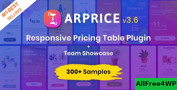ARPrice v3.6 – Ultimate Compare Pricing table plugin