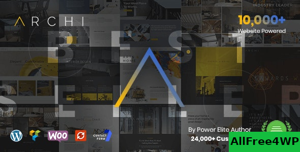 Archi v4.3.4.2 – Interior Design WordPress Theme