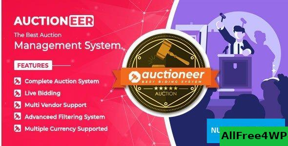 Auctioneer v1.0 – Full Auction management