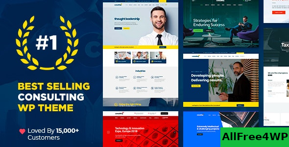 Consulting v5.0.2 – Business, Finance WordPress Theme