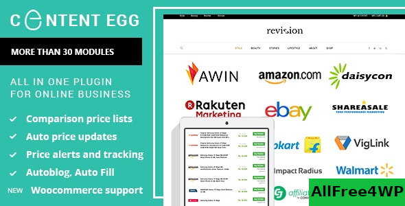 Content Egg v6.7.6 – all in one plugin for Affiliate