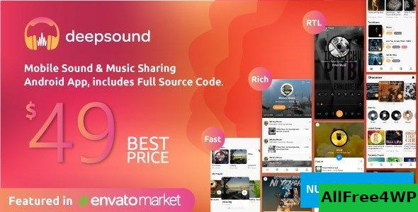 DeepSound Android v1.5 - Mobile Sound & Music Sharing Platform Mobile Android Application