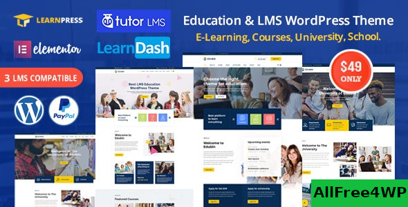 Edubin v6.0.2 – Education LMS WordPress Theme
