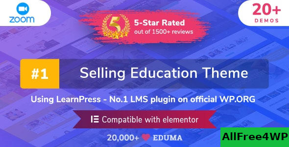Eduma v4.2.8.3 – Education WordPress Theme