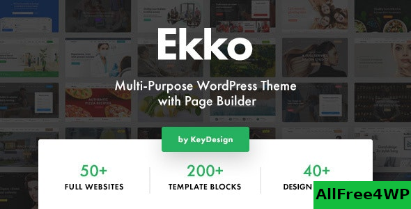 Ekko v1.7 – Multi-Purpose WordPress Theme with Page Builder