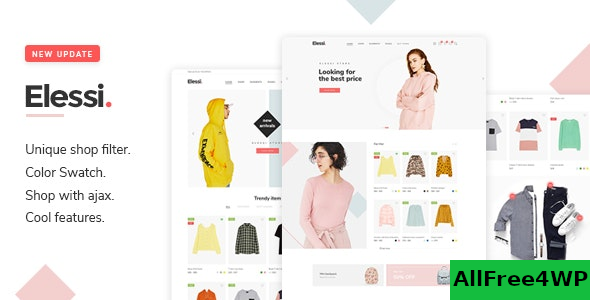 Elessi v3.5.1 – WooCommerce AJAX WordPress Theme – RTL support