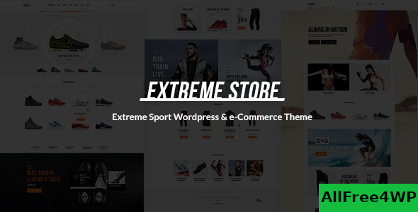 Extreme v1.5 – Sports Clothing & Equipment Store Theme