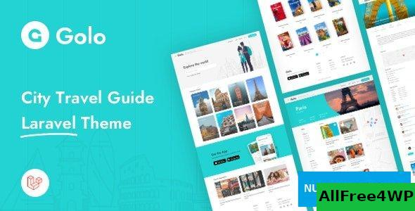 Golo v1.1.3 - City Travel Guide Laravel Theme