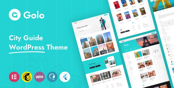 Golo v1.3.1 – City Guide WordPress Theme