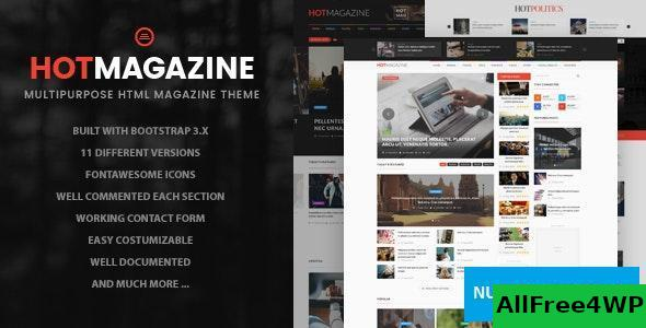 Hotmagazine v1.0 – News & Magazine HTML Template