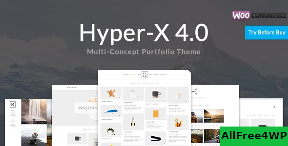 HyperX v4.9.4 – Portfolio for Freelancers & Agencies