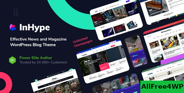 InHype v1.1 – Blog & Magazine WordPress Theme