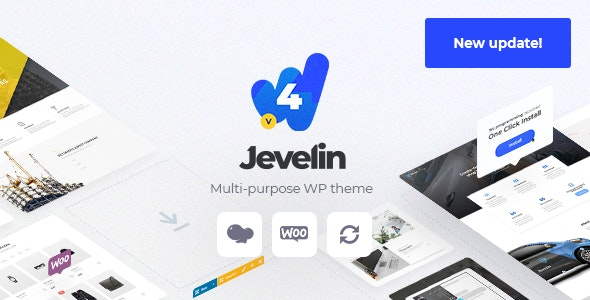 Jevelin v4.6.9 – Multi-Purpose Premium Responsive Theme