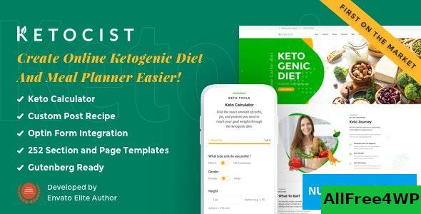 Ketocist v1.2.42 - Keto Diet WordPress Theme
