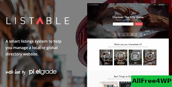LISTABLE v1.13.0 – A Friendly Directory WordPress Theme