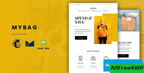 MyBag v1.0 – E-commerce Responsive Email for Fashion & Accessories with Online Builder