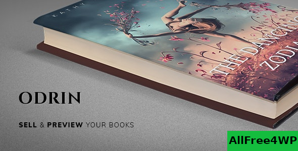Odrin v1.3 – Book Selling WordPress Theme for Writers