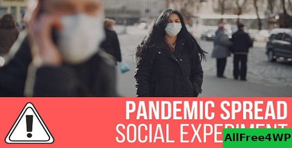 Pandemic Spread Simulation v1.0.0 – Social Experiment