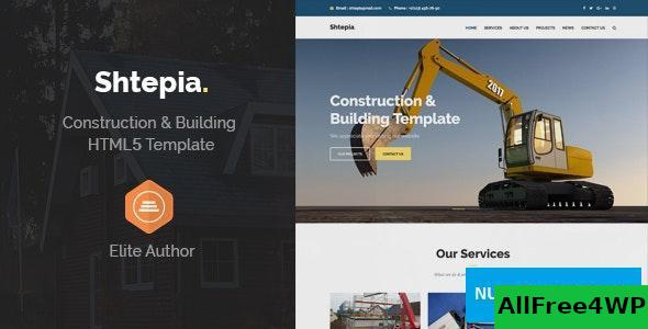 Shtepia v1.2 – Construction & Building HTML5 Template