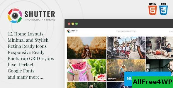 Shutter v1.0 – Photography HTML5 Template