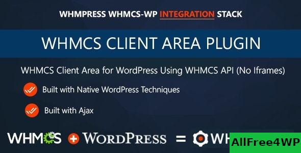 WHMCS Client Area for WordPress by WHMpress v3.5