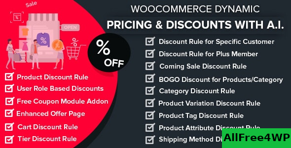 WooCommerce Dynamic Pricing & Discounts with AI v1.5.0