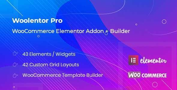 Woolementor Pro v1.4.1 – Connecting Elementor with WooCommerce