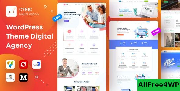Nulled Cynic v1.13 – Digital Agency WordPress Theme NULLED