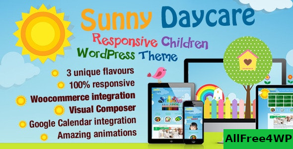 Daycare v3.2 – Kindergarden WordPress Theme