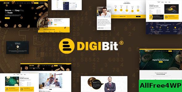 DigiBit v1.6 – Cryptocurrency Mining WordPress Theme