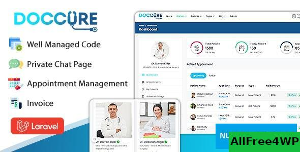 Doccure v1.0 – Doctor Appointment Booking System Template (HTML + Laravel)